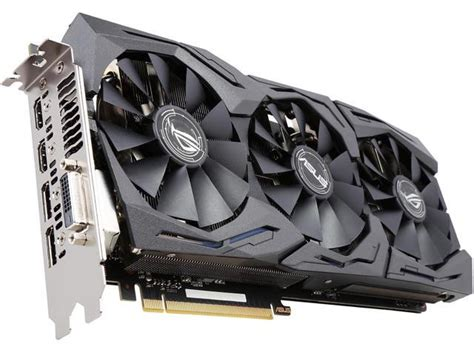 asus rog geforce gtx 1080 strix gtx1080 a8g gaming 8gb 256 bit gddr5x pci express 3 0 hdcp ready