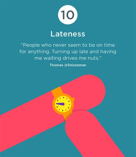 10 Most Annoying Habits And 10 Ways To Fix Them by Infographic The Top 10 Most Annoying Habits Designtaxi