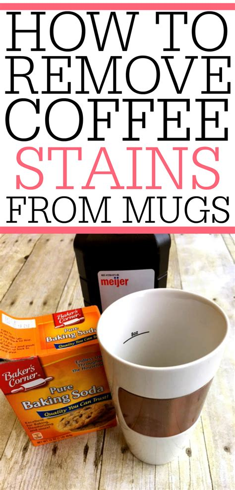 how to remove coffee stains from mugs frugally blonde