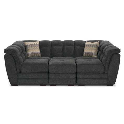 clio gray 4 pit sectional 1a 100 4pc living room