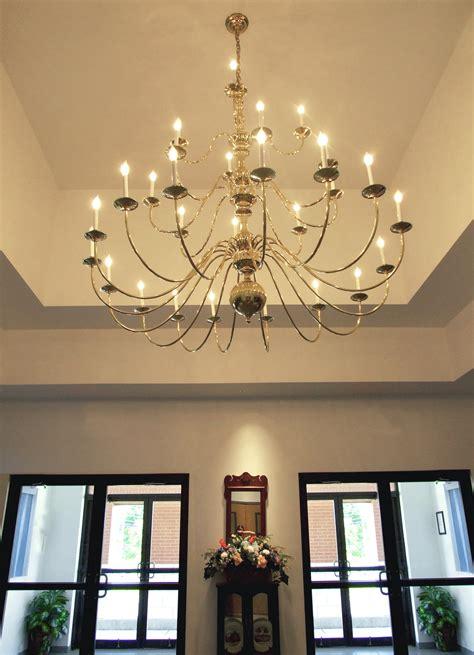 church chandeliers