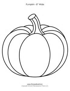 Printable Pumpkin Template by Pumpkin Templates Paper Pumpkins Printables For