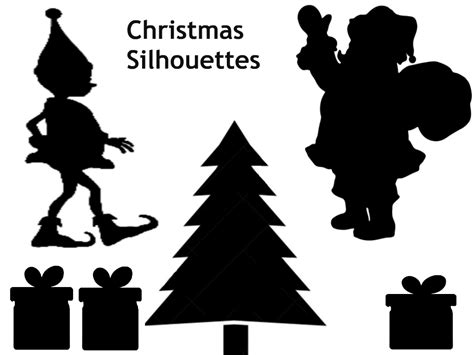 printable christmas silhouettes family advent calendar day 12 make a shadow puppet theatre and shadow puppets the