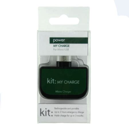 9nine Emergency Charger Kit kit my charge micro usb emergency charger mobilezap australia