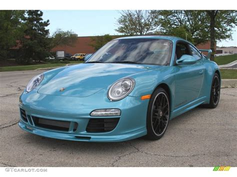 blue metallic porsche 2012 ipanema blue metallic porsche 911 4 gts coupe