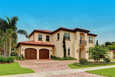luxury spanish style homes boca raton florida custom spanish style residence