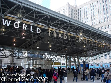 walk   tragic  site ground   world trade