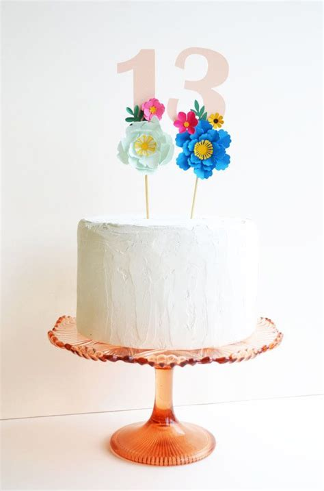 Cake Handmade - best 25 flower cake toppers ideas on diy cake