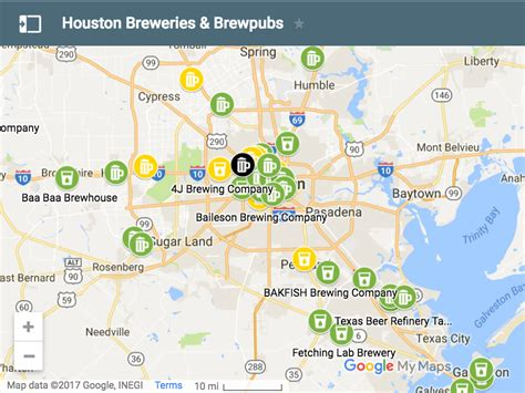 breweries in texas map houston breweries brewpubs map houston guide
