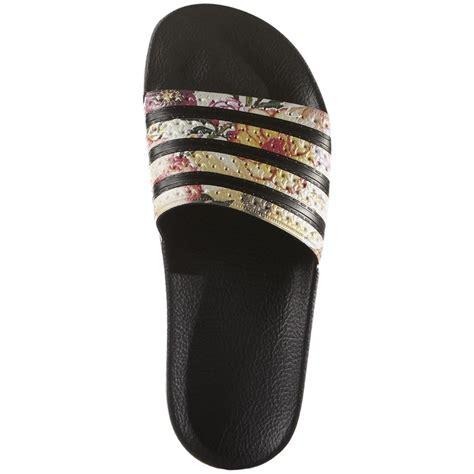 adidas sandals womens adidas originals adilette slide sandals s evo outlet