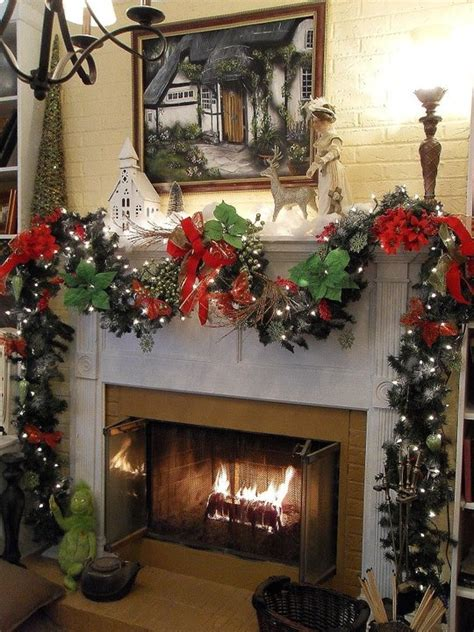 christmas chimney deco celebrations pinterest