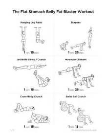 flat stomach belly fat blaster workout motivation