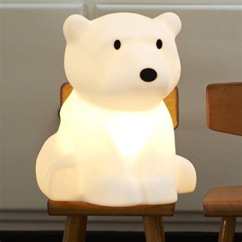 veilleuse chambre enfant d 233 co ours polaire pour la chambre de b 233 b 233