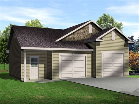 8 car garage plans two car garage with one bay tall enough for an auto lift