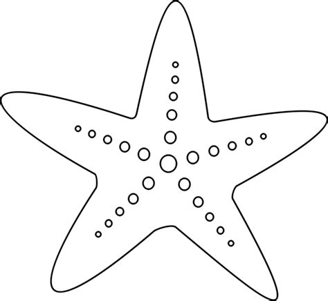starfish coloring pages preschool printable starfish template pictures to pin on pinterest