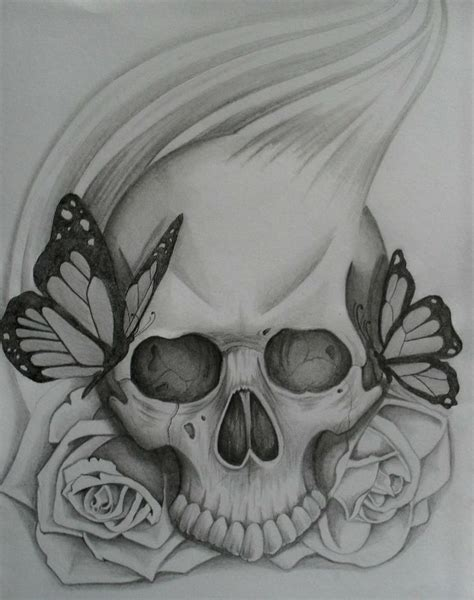 best 20 skull roses tattoo ideas on pinterest skull drawn rose skull inside pencil and in color drawn rose
