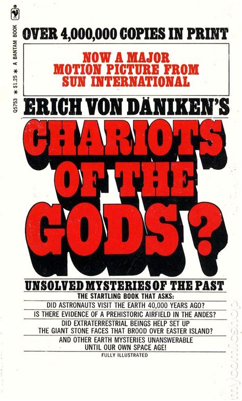 of the gods books chariots of the gods pb 1971 bantam edition comic books