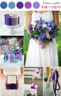 purple blue wedding colors purple blue wedding theme