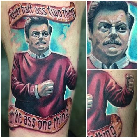 ron swanson tattoo 687 best images about tattoos on henna snake