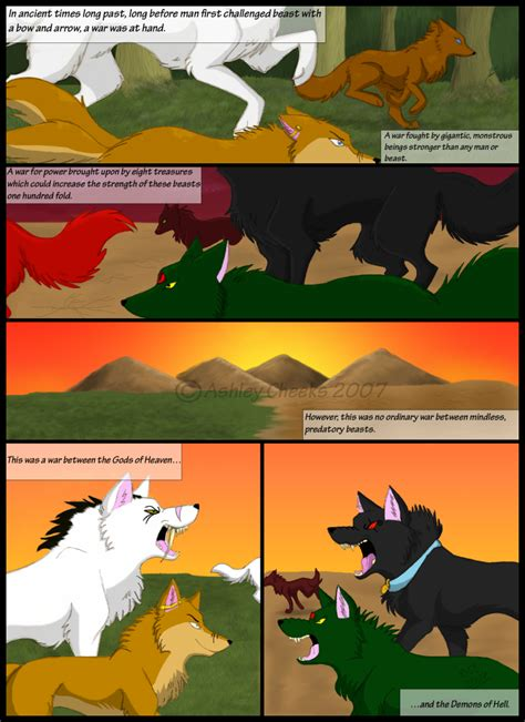 wolf song page 1 revamp by shroudofshadows on deviantart