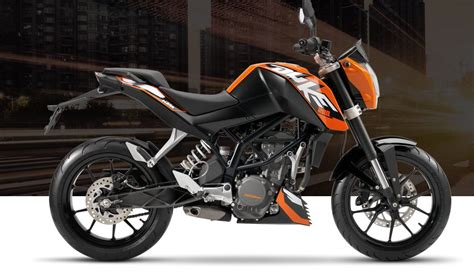 Ktm Duke 200 Orange The All New 2017 Ktm Duke 200