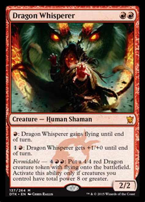 drachen deck magic dragons of tarkir constructed review
