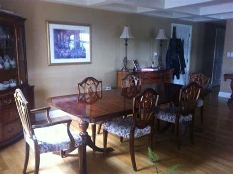 duncan phyfe dining room set vintage duncan phyfe mahogany dining room set nepean ottawa