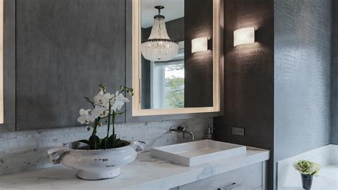 faux painting ideas for bathroom gray bathroom faux snakeskin wallpaper shallow vessel sink wall faucet ideas