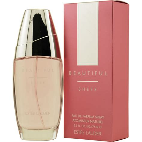 Parfum Estee Lauder beautiful sheer by estee lauder eau de parfum spray 2 5 oz