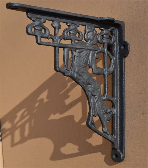 industrial style cast iron gallows brackets shelf bracket
