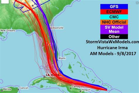 Irma Set hurricane irma path live track update shows irma set to