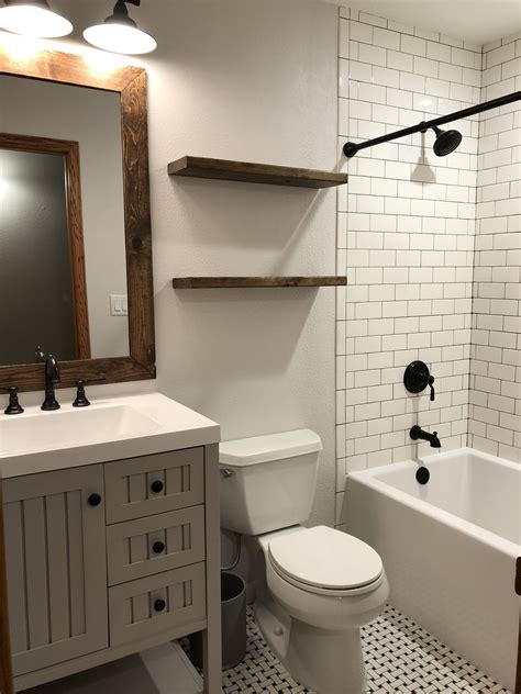 farmhouse bathroom wall color eider white  sherwin