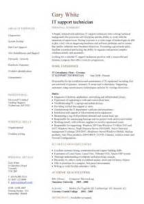 IT CV template, CV library, technology job description