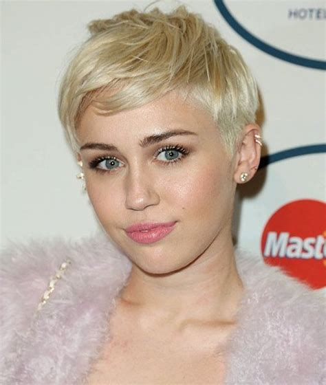 how to style miley cyrus hairstyle 22 cool short pixie hair cuts for women 2015 pretty designs