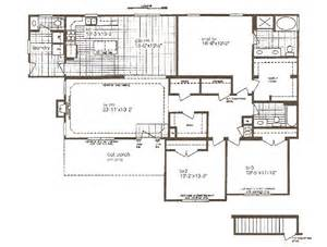 modular floor plans basement garage 171 home plans home design