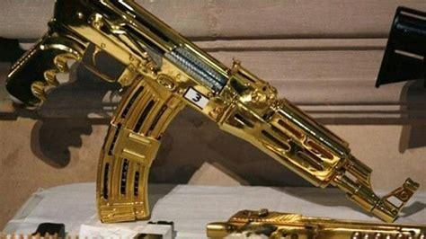 cadenas de oro raras armas de oro armas perronas pinterest