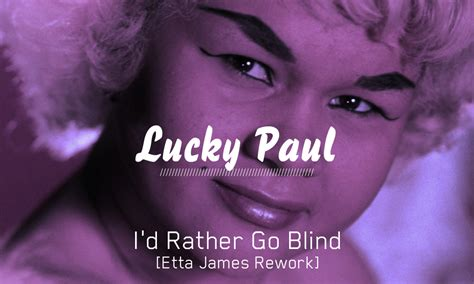 Etta I Rather Be Blind i d rather go blind etta rework dj polished solid