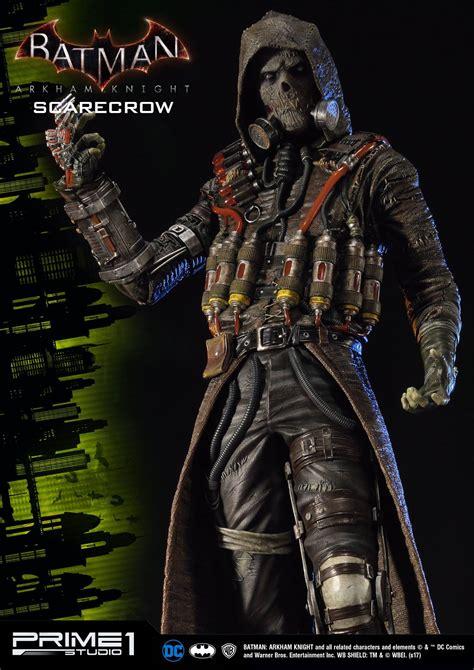 Batman Arkham Scarecrow batman arkham scarecrow statue by prime 1 studio
