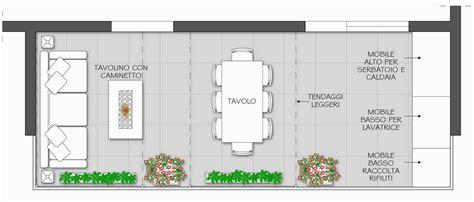 terrazzo attrezzato terrazzo attrezzato il progetto in una stanza
