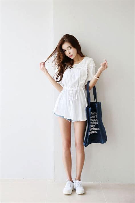 ruffle square blouse korean fashion ulzzang style and korean style