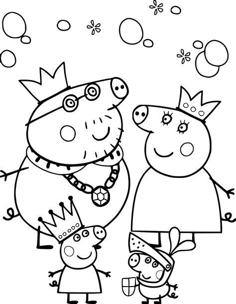 Coloriage Famille Peppa Pig 224 Imprimer Sur Coloriages Info Coloriage A Imprimer Pour Fille L