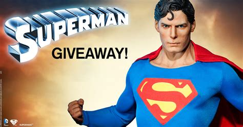 Superman Giveaways - superman facebook giveaway sideshow collectibles