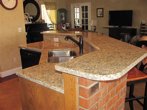 bar with granite top robinstar quilting new granite counter tops