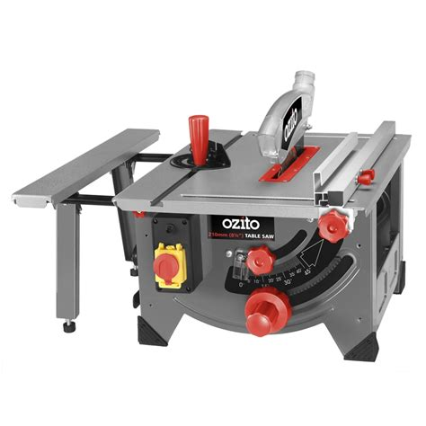 ozito bench saw ozito 1200w 210mm table saw i n 6290286 bunnings warehouse