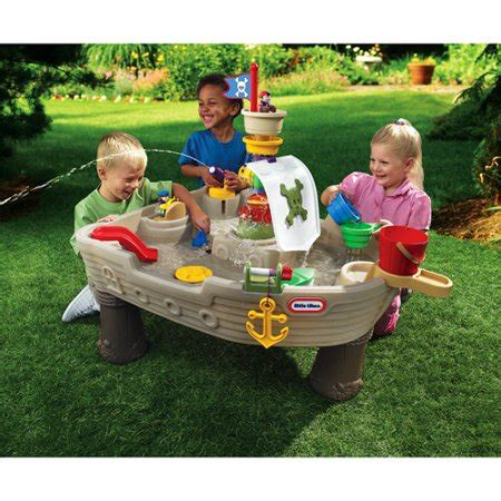 tikes anchors away pirate ship water play table tikes anchors away pirate ship activity table