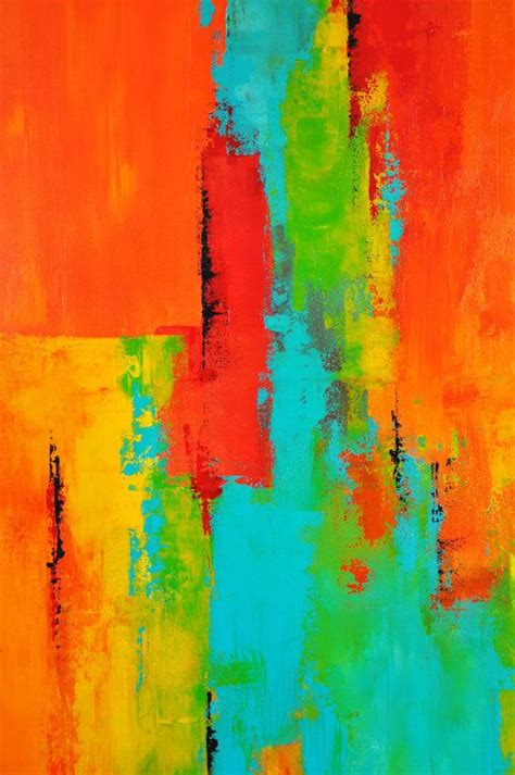 acrylic painting modern 22 x 28 abstract acrylic painting on canvas