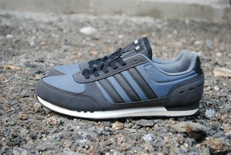 jual sepatu adidas city racer original dark grey adidas