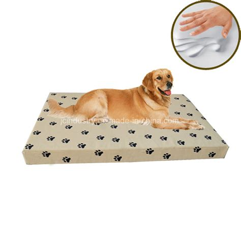 amazon dog beds china amazon hot sale orthopedic memory foam luxury dog