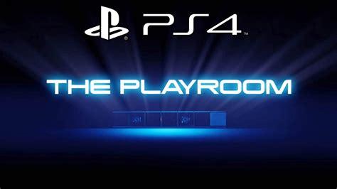 ps4 playroom ps4 playroom logo