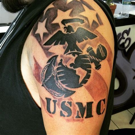 usmc tribal tattoos best 20 usmc tattoos ideas on